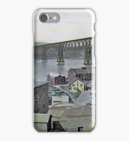Poughkeepsie Railway Bridge, 1927 iPhone Case/Skin