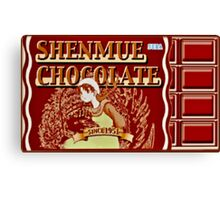 Shenmue Chocolate Shenmue Canvas Print