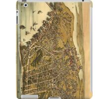 Vintage Pictorial Map of Beverly MA (1886) iPad Case/Skin