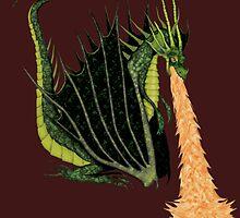 Fire Breathing Dragon by 'Trick Slattery