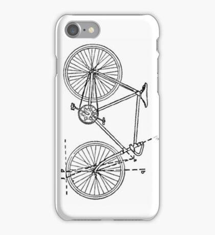 Bicycle Blueprint iPhone Case/Skin