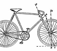 Bicycle Blueprint by BravuraMedia