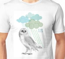 Singing in the rain - blue Unisex T-Shirt