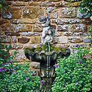 Garden Fountain by Vicki Field
