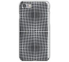 optical ball pattern iPhone Case/Skin
