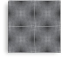 optical ball pattern Canvas Print
