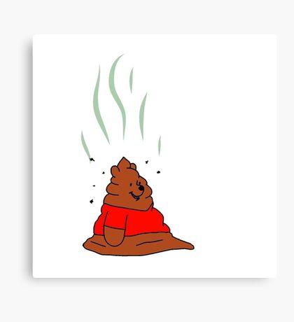 Winnie The Poo Canvas Print