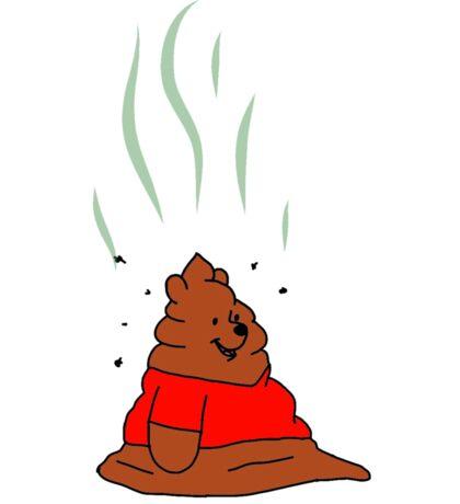 Winnie The Poo Sticker