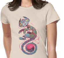 cat + thread Womens Fitted T-Shirt
