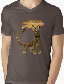 Babou Mens V-Neck T-Shirt