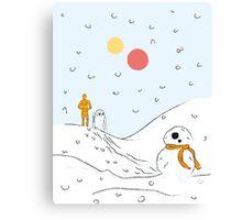 A Very BB8 Christmas Canvas Print
