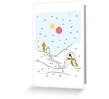 A Very BB8 Christmas Greeting Card