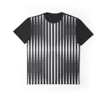 optical stripes pattern Graphic T-Shirt