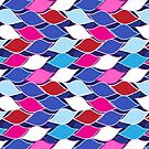 Seamless abstract graphic pattern by Tanor