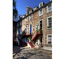 Ramsay Garden Steps Photographic Print
