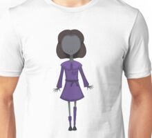 Scary Doll Girl Unisex T-Shirt
