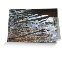 Eyes of the Storm Greeting Card