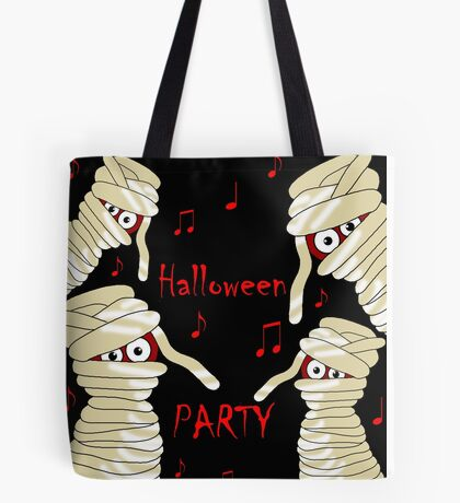 Halloween mummy party Tote Bag