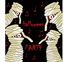Halloween mummy party Photographic Print