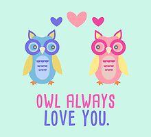 Owl Love by kmacneil91