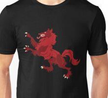 Celtic Wolf Rampant BIG Unisex T-Shirt