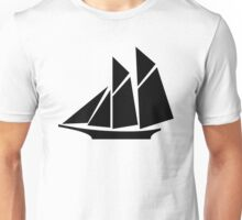 Sailboat Silhouette Unisex T-Shirt