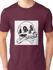 Starry Eyes Skull Unisex T-Shirt