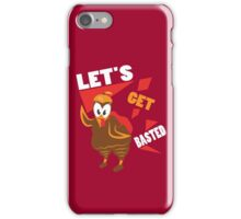 Let's Get Basted Funny Design for Thanksgiving iPhone Case/Skin