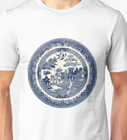 China Blue Willow Unisex T-Shirt