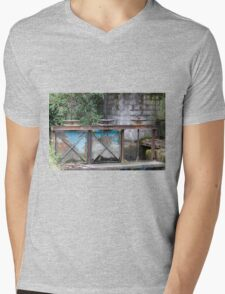 closed on the river Mens V-Neck T-Shirt