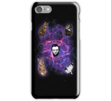 Cats in space, Abraham Lincoln: These hoes aint loyal iPhone Case/Skin