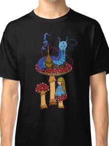 Hookah Smoking Catterpillar  Classic T-Shirt