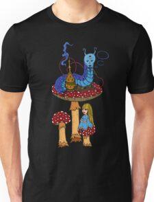 Hookah Smoking Catterpillar  Unisex T-Shirt