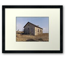 Empty Stone House Framed Print