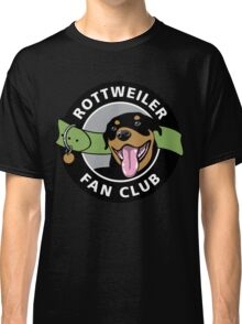 Rottweiler Fan Club Classic T-Shirt