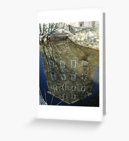 Reflections on the past Greeting Card