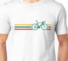 Bike Stripes Lithuanian National Road Race v2 Unisex T-Shirt