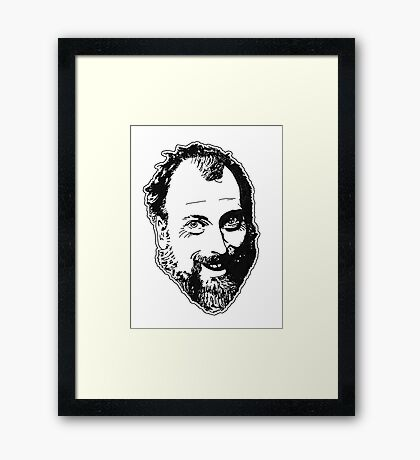 Duncan's Digressions Face Framed Print