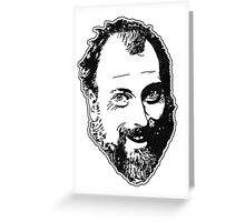 Duncan's Digressions Face Greeting Card