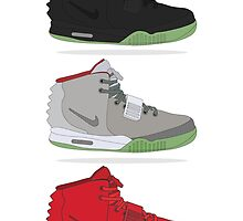 Nike Air Yeezy Collection by DSC94