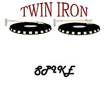 Twin Iron TAGED Photographic Print