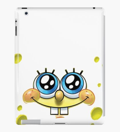 spongebob splash iPad Case/Skin