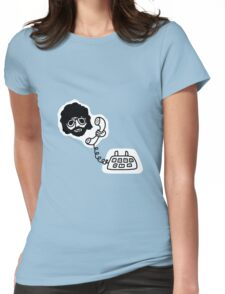 Jeff Lynne's Telephone Womens Fitted T-Shirt