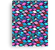 Seamless abstract graphic pattern  Canvas Print
