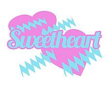 Retro Sweetheart Photographic Print