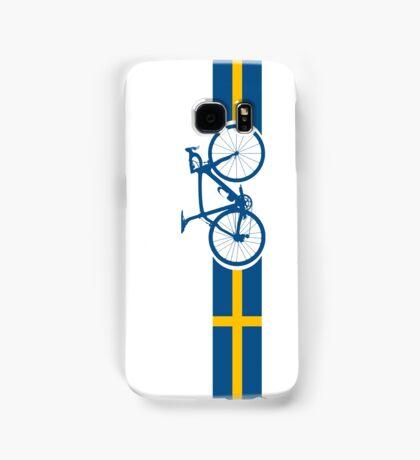 Bike Stripes Swedish National Road Race Samsung Galaxy Case/Skin