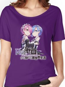 Re:Zero - Rem and Ram Women's Relaxed Fit T-Shirt