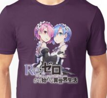 Re:Zero - Rem and Ram Unisex T-Shirt