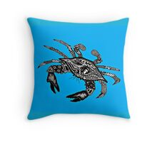 Maryland Blue Crab Throw Pillow