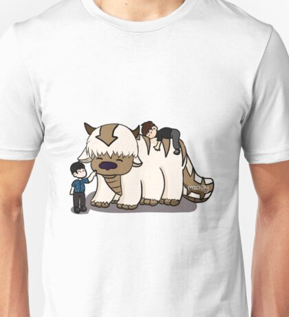 Dan and Phil with Appa  Unisex T-Shirt
